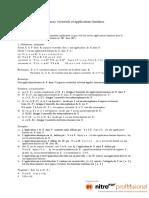 Cha 14 - E V  et Applications Linéaires