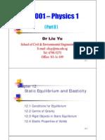 FE1001 Part 2 Lectures 22-27