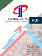 Company Profile Pt Cip 2021