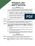 Regulamento Oficial Superligab 2021