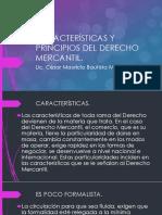 Características y Principios Del Derecho Mercantil [Autoguardado]
