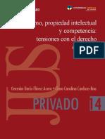 Consumo - propiedad intelectual y competencia - tensiones con el derecho comercial - U Catolica de Colombia