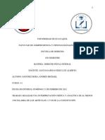 SANCHEZ MORA ANDRES MICHAEL - Interpretación crítica y analítica de los artículos 11 y 66 de la Constitución