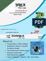 Sparex Pvt Ltd Gujarat India