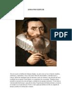 Trabajo Epistemologia de la ciencia Johannes Kepler