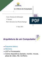 02 - ICC - Noções Básicas de Arquitetura e Organização de Computadores