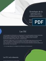 Tecnología de La Información y Comunicaciones