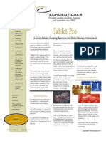 Tablet processing