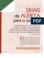 DOSSIÊ COMPORTAMENTO DESTRUTIVO - Sinais de Alerta para o Suicídio - REVISfffTA PSIQUE, N. 92