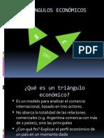 Triángulos económicos