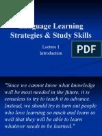 Language Learning Strategies & Study Skills