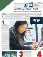 DEZ MUDANÇAS EM CINCO ANOS - Pág.1