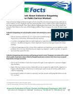 AFSCME Fact Sheet Collective Bargaining