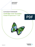 Cambridge Lower Secondary Global Perspectives Curriculum Framework 1129_tcm143-469223