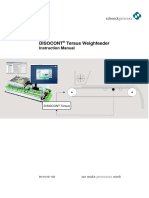 DISOCONT® Tersus Weighfeeder Instruction Manual bvh2407gb