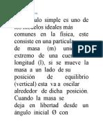 Marco Teorico Péndulo Simple y s. Masa Resorte p1