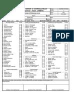 Check List de Vehiculos