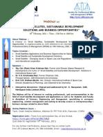 Webinar Small Satellite Brochure 19 Feb 2021