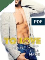 To Love Jason Thorn - Ella Maise OFICIAL