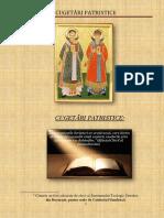 CUGETĂRI PATRISTICE (1) - Copy