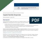 Capital Semilla Emprende