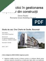 Prezentare CE - Studii Caz CD&Amp;D-2