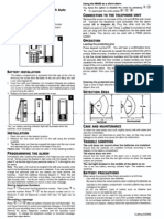 ALARM sensor MA80_INSTRUCTIONS