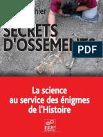 Secrets d'ossements (la science au service des énigmes de l'Histoire) - Guy Gauthier