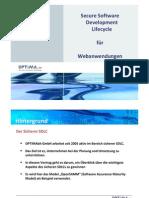 Optima Secure Sdlc Overview de v1.2