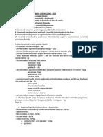 Examen specialitate CANTACUZINO   2018