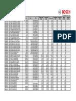 2014 Listino Bosch Diagnostica