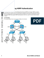 18-Troubleshooting HSRP Authentication