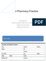 Clinical Pharmacy Practice