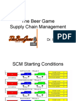 The Beer Game Supply Chain Management