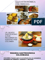 Riqueza gastronómica colombiana