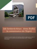 Adi Sankarâchârya Atma bodha la connaissance de l'Esprit