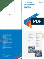 Cj Logistics Sustainability Report 2018-2019 En