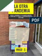 La otra pandemia (Amnistía Internacional)