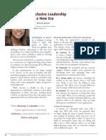 Diversity Journal | Inclusive Leadership in a New Era - Jan/Feb 2010