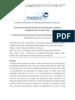 Teor de proteína bruta do Tifton 85 sob irrigação e adubação  nitrogenada em Parnaíba, Piauí