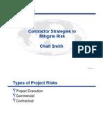 Contractor Strategies to Mitigate Risk