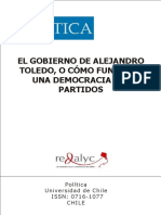 El gobierno de Alejandro Toledo, o cómo funciona una democracia _nodrm