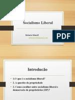 13. Socialismo liberal