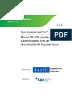 ISA 260 (révisée)
