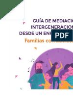Guía de mediación intergeneracional desde un enfoque sistémico. Familias con adolescentes