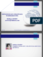 Initiation Aux Stratégies Webmarketing