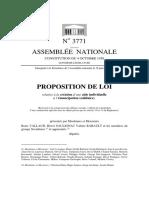 PROPOSITION DE LOI relative à la création d'une aide individuelle à l'émancipation (solidaire)