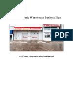 warehouse Business Plan