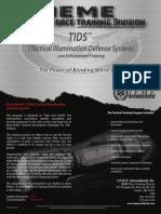 TIDS flyer