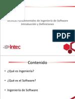 INTEC - IDS323 - 1 - Introducción y Definiciones